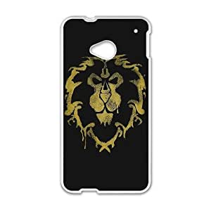 HTC One M7 Cell Phone Case White World of Warcraft Popular Games image KOL1369296