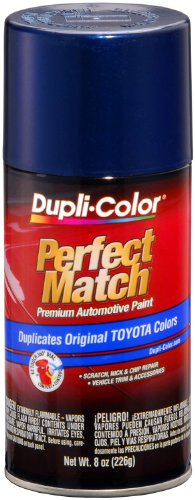 Dupli-Color BTY1623-6 PK (EBTY16237-6 PK) Dark Blue Pearl Toyota Exact-Match Automotive Paint - 8 oz. Aerosol, (Case of 6) by Dupli-Color