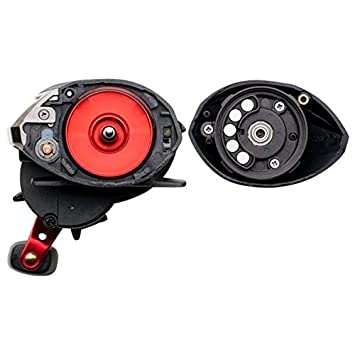 Abu Garcia Left Hand Retrieve Black Max Low Profile Baitcast Reel 12-Pound 145-Yard