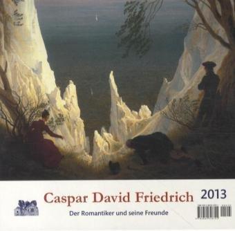 Caspar David Friedrich 2015 Postkartenkalender: Der deutsche Romantiker