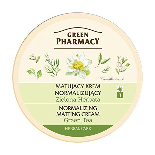 Green Pharmacy Face Care Green Tea Mattifying Cream For Mixed And Oily Skin (0% Parabens) 5.0 oz