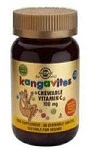 Kangavites Vitamina C (Naranja) Infantil 90 comprimidos de Solgar: Amazon.es: Salud y cuidado personal