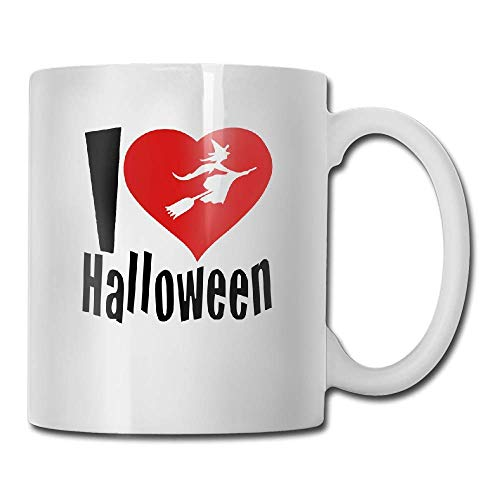 PIHJE mugs Custom I Love Halloween A Red Heart Fun Mugs