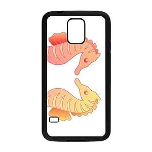 Cartoon Sea Horse Hight Quality Plastic Case for Samsung Galaxy S5