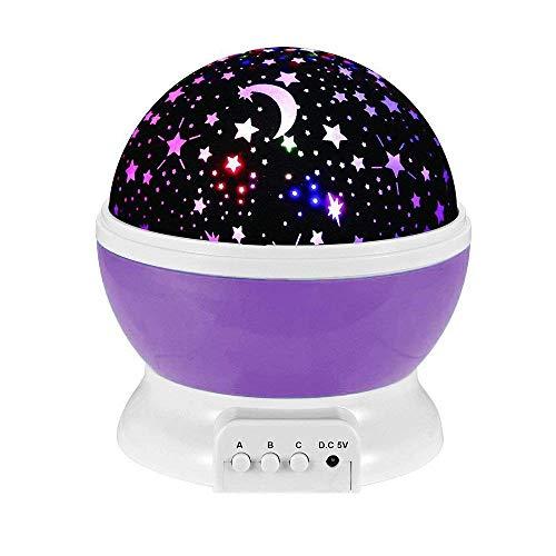 VP STORES Romantic Sky Star Master Night Light Projector Children Kids Baby Sleep Lighting USB Lamp Led Projection