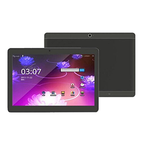 Aurorax 10.1'' Tablet PC 1280 x 800 IPS HD Touchscreen Mic WIFI Android 6.0 Octa Core 4GB DDR3,64GB ROM,Support Games, Skype ,MSN ,Facebook, Twitter, etc (Black) by Aurorax