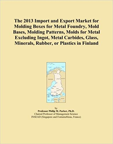 Book The 2013 Import and Export Market for Molding Boxes for Metal Foundry, Mold Bases, Molding Patterns, Molds for Metal Excluding Ingot, Metal Carbides, Glass, Minerals, Rubber, or Plastics in Finland