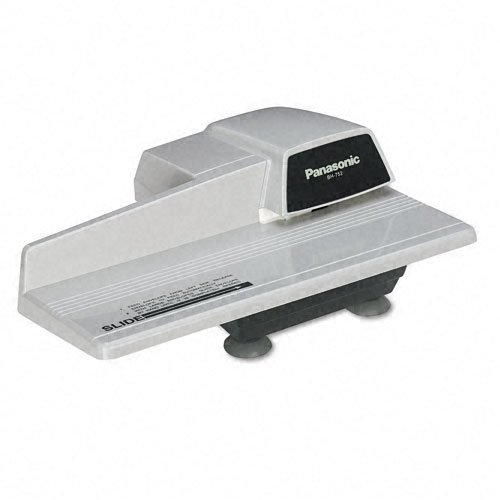 Panasonic Products - Panasonic - BH752 Compact Automatic Electric Letter Opener, 8'', Gray - Sold As 1 Each - Contemporary and compact design. - Operates quietly and quickly for today's office needs. - Rubber suction feet. by Panasonic Products
