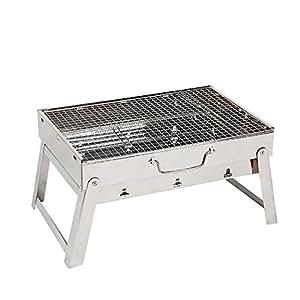 Amazon.com: Vfdsvbdv - Parrilla portátil de carbón vegetal ...