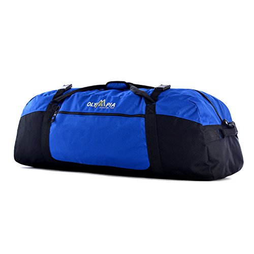 42 Polyester Sports Duffel - Color: Royal Blue