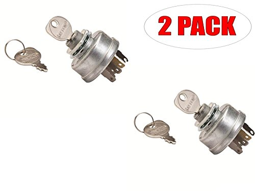 Oregon 33-399 (2 Pack) Ignition Switch Scag Replaces Briggs & Stratton 48798