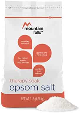 Mountain Falls Soothing & Relaxing Therapy Soak Epsom Salt for Muscle Soreness & Fatigue Soaking Solution, 3 Pound