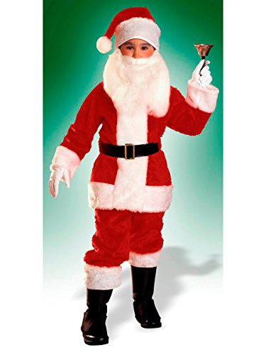Rubies Plush Child Santa Suit Costume, -