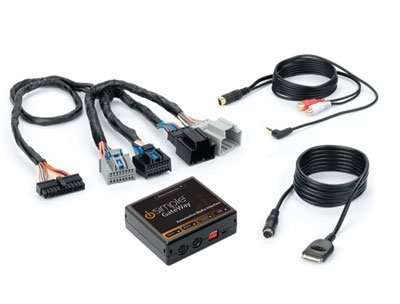 iSimple ISGM574 Gateway Automotive Audio Input Interface Kit for 2007-09 Cadillac STS