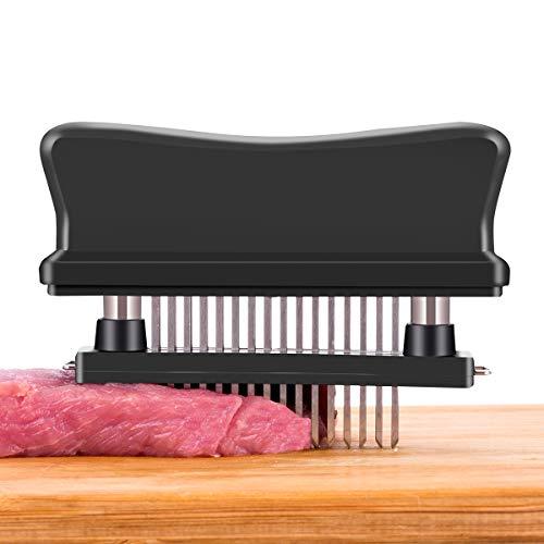 Flytt Meat Tenderizer, 48 Stainless Steel Ultra Sharp Needle Blade Tenderizer Tool for Tenderizing Steak, Beef,Marinade and BBQ
