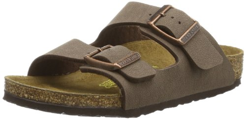 Price comparison product image Birkenstock Unisex-Child Arizona Kids Mocca Birkibuc Sandals 33.0 N EU N 552893