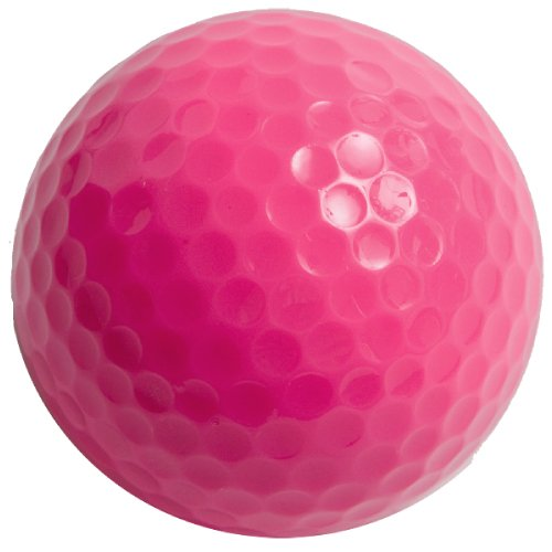Colored Golf Balls, Pack of 12 Balls Plain, Non-Printed