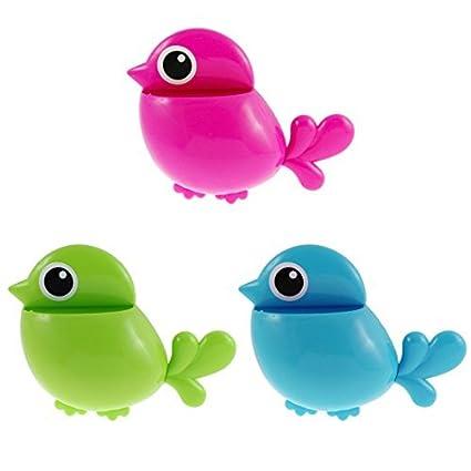 Amazon.com: eDealMax plástico del diseño del pájaro Inicio Pasta de ...