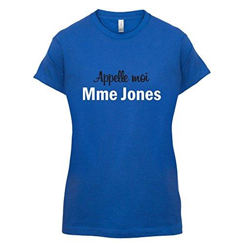 Apelle Moi Madame Jones - Femme T-Shirt - Bleu Royal - M