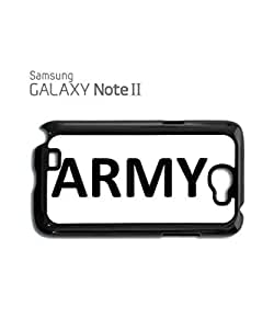 Army Soldier Mobile Cell Phone Case Samsung Note 2 Black