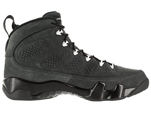 Nike Air Jordan Herren 9 Retro Anthrazit Basketballschuh Anthrazit / Weiß-Schwarz
