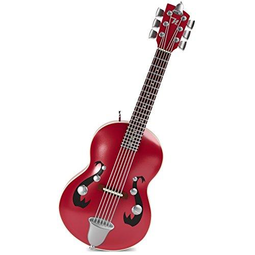 - Hallmark Keepsake Mini Christmas Ornament 2018 Year Dated, Little Strummer Guitar Miniature With Music, 3.04