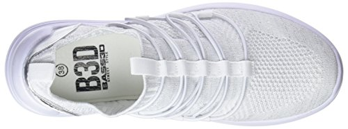 Sports 41489 Blanco Women Shoes bass3d Elastico qfPYvW
