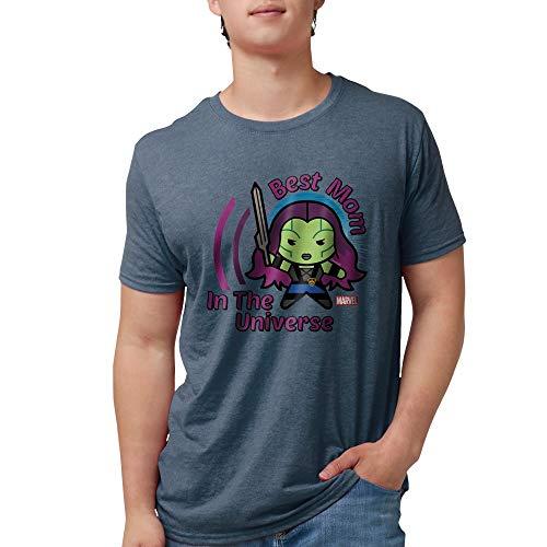 CafePress GOTG Best Mom Universe Mens Tri Blend T Shirt Mens Tri-blend T-Shirt ()
