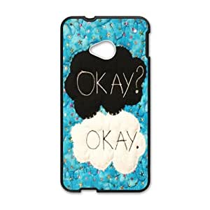Happy Warm dialogue Cell Phone Case for HTC One M7