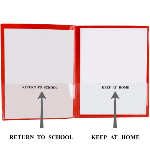 StoreSMART - Plastic School / Home Folders Archival Folders - Primary Colors 72 Pack - 12 Each of Six Bright Colors (SH900PCP72ENG) by STORE SMART (Image #3)