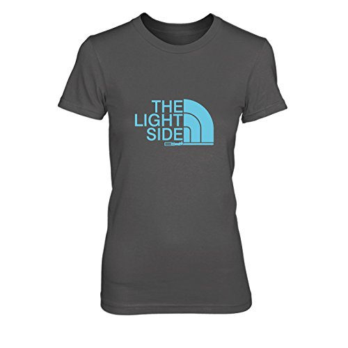 The Light Side - Damen T-Shirt, Größe: L, Farbe: grau