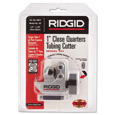 Ridgid 40617 1/4-Inch to 1-1/8-Inch Close Quarters Tubing Cutter
