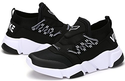 VITIKE Kids Breathable Sneakders for Boys Girls Outdoor Low-top Flats Shoes
