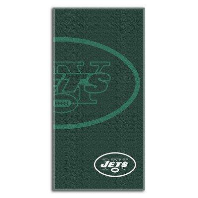 Northwest New York Jets Shadow Beach Towel
