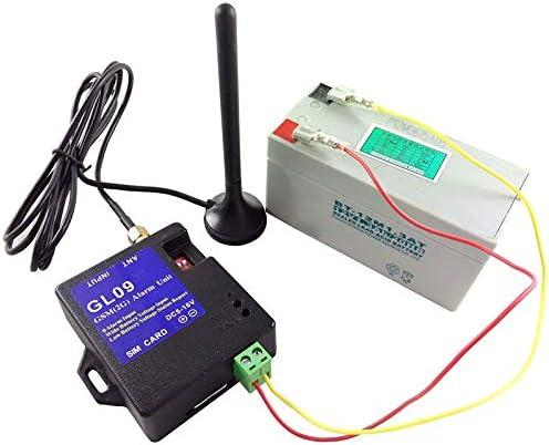 Nrpfell GL09 8-Kanal Batterie Betriebene App Steuerung GSM Alarm Systeme SMS Alert Security System 2019
