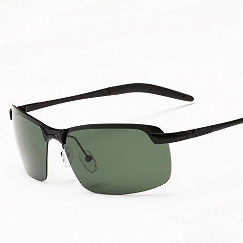 Sol Gafas Polarizer Hombres Deportes Sol de para Marea B Espejo de Sol Color Gafas Male Driving C de Driver Gafas qxRIPwaYI