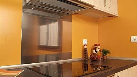 chapa protectora acero inoxidable para campana de cocina o fregadero (80x80): Amazon.es: Bricolaje y herramientas