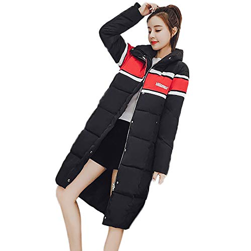 Limsea Women Overcoat Coat Jacket Fashion Casual Warm Slim Fit Winter Outwear XX-Large Black ()