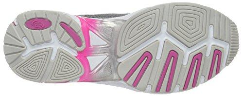 Bruetting Fusion, Zapatillas de Running Mujer Gris (GRAU/SCHWARZ/PINK)
