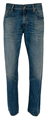 Ralph Lauren Polo Men's Big & Tall Hampton Straight Stretch Jeans-LWC-48Bx30L
