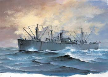 Trumpeter 1/700 USS SS Jeremiah O'Brien WWII Liberty Ship Model (Wwii Ship)