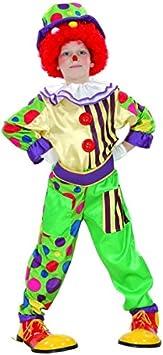 Disfraz de payaso niño - 4 - 6 años: Amazon.es: Juguetes y juegos