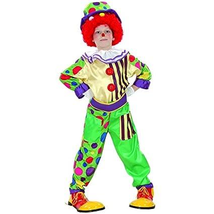 Disfraz de payaso niño - 7 - 9 años: Amazon.es: Juguetes y juegos