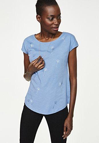 Armed Angels–Camiseta de mujer coronet blue