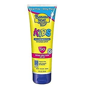 Banana Boat Kids Tear Free Sunscreen Lotion SPF 50