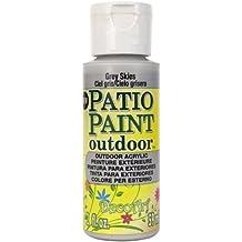 DecoArt Patio Paint, 2-Ounce, Grey Skies