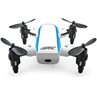 Owill JJRC H345 Dual Aircraft Combination Mini Foldable Drone Quadcopter for White and Black Color (Black)