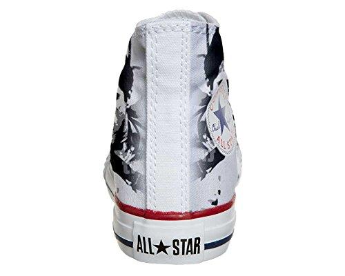 Converse All Star Hi Personnalisé et Imprimés chaussures coutume, Sneaker Unisex (produit Italien artisanal) Al Pacino