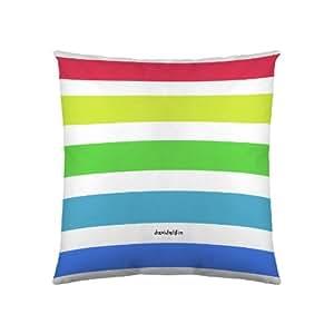 David Delfin Funda De Cojín Polychromie Multicolor 80 x 80 cm