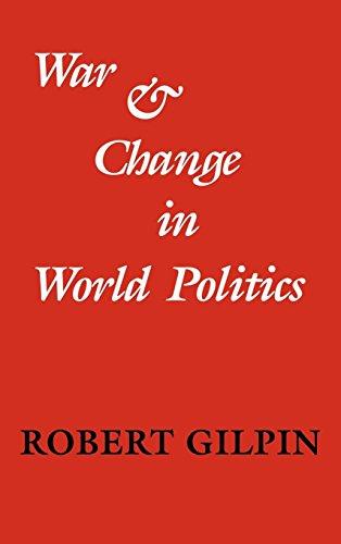 War and Change in World Politics